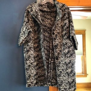 Ann Taylor cropped wool blend jacket